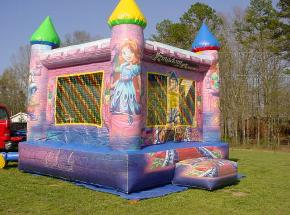 princess castle moonwalk Rockmart Ga
